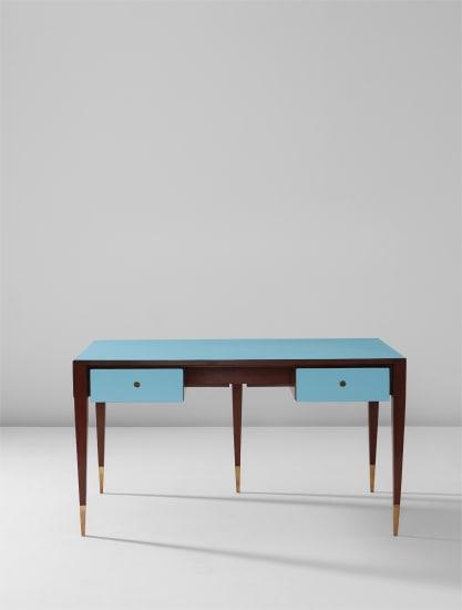 Partner's desk, designed for the Vembi-Burroughs offices, Turin