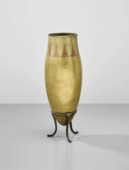 Tall vase on stand