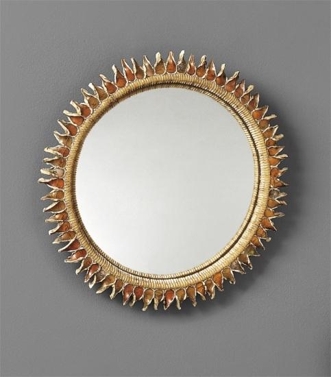 "Large ""Chardon"" mirror"