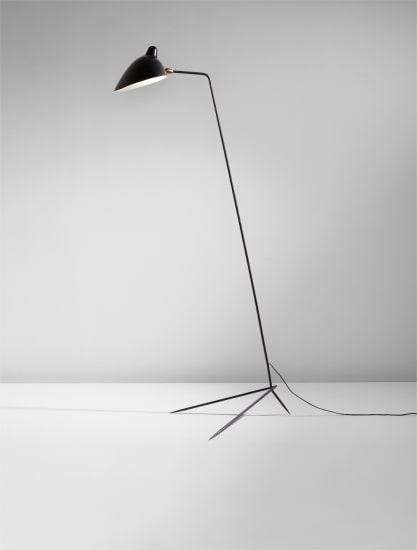 """""""Simple"""" floor lamp with """"Lampadaire"""" shade"""