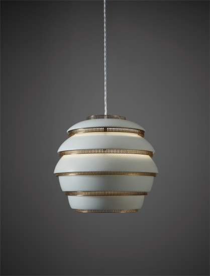"""Mehiläispesä (Beehive)"" ceiling light, model no. A 331"