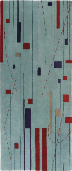 """""""Sketch"""" carpet, from Museum Tower, New York"""