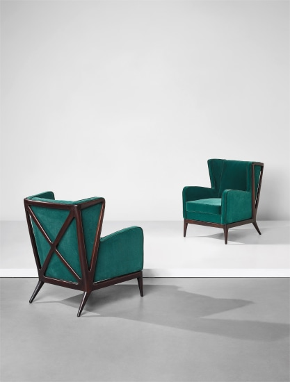 "Pair of ""Ramages"" armchairs"