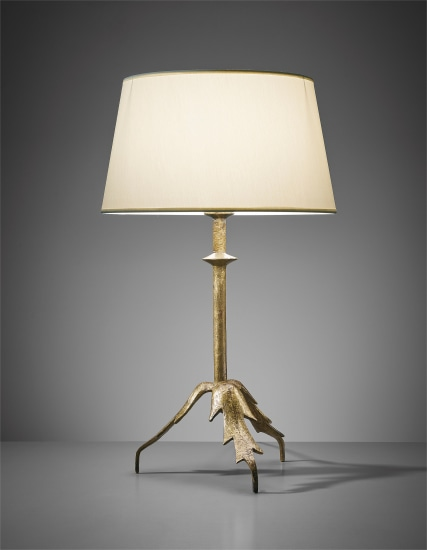 """Trépied à feuille"" table lamp (first version)"