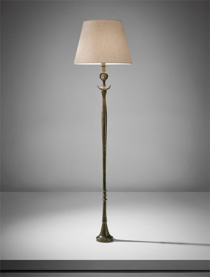 "Early ""Figure"" floor lamp (thin version)"