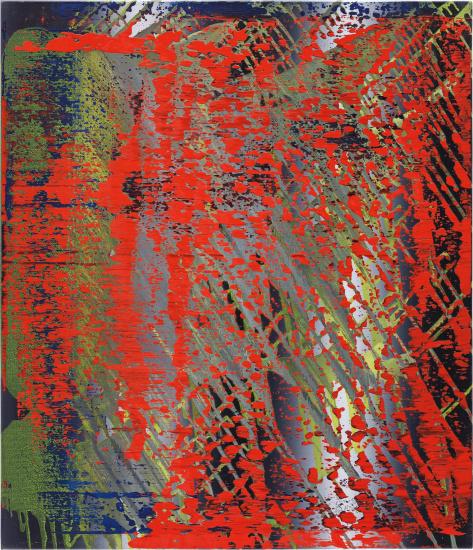 Abstraktes Bild (682-4)