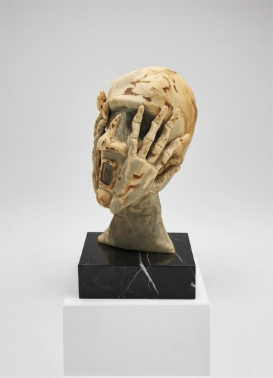 Untitled (Head with Hands)
