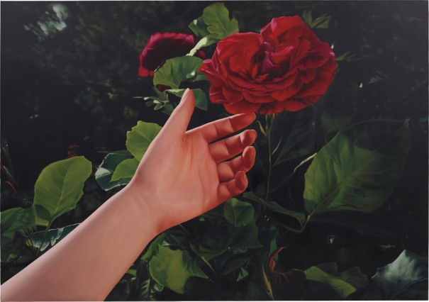 Untitled (Red Rose and Hand)