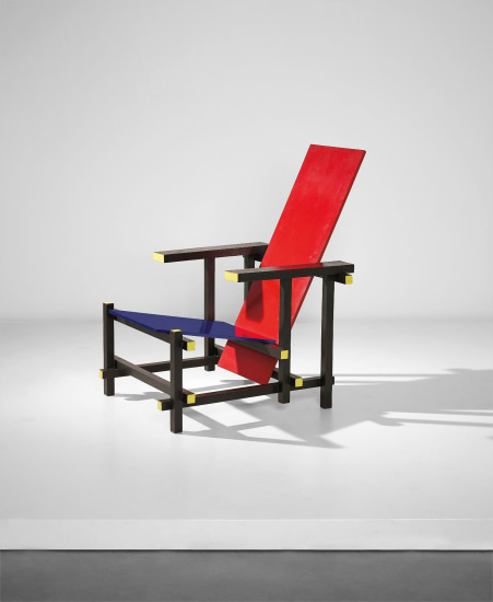 'Red-blue' armchair