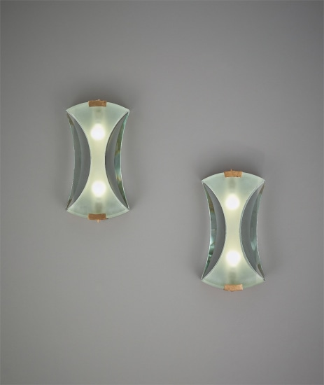 Pair of wall lights, model no. 2225