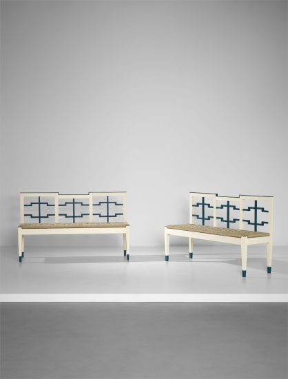 Pair of early benches