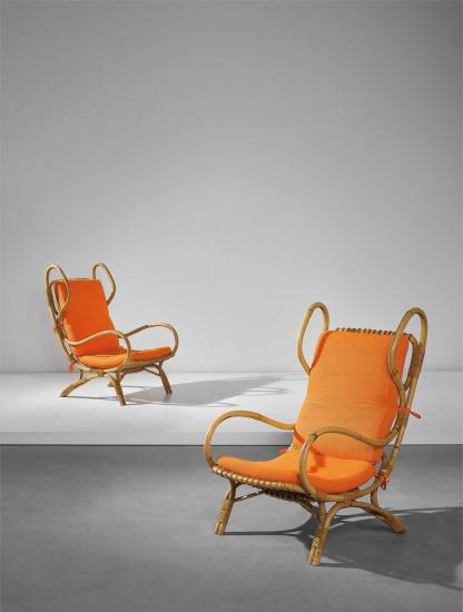 Pair of 'Continuum' armchairs
