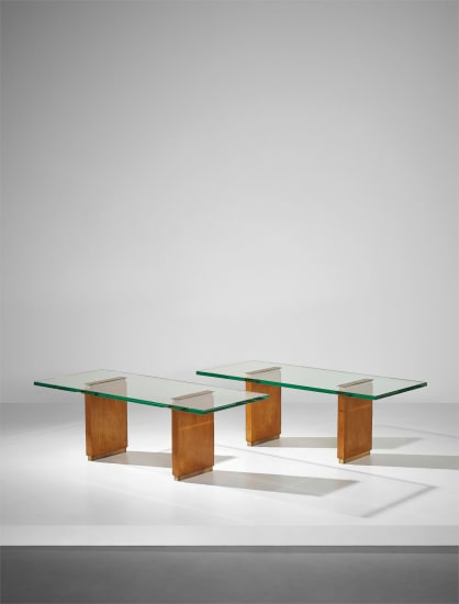 Pair of coffee tables, model no. 2354