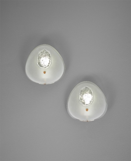 Pair of wall lights, model no. 1944