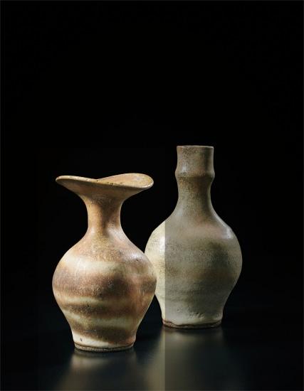Vase with flaring lip