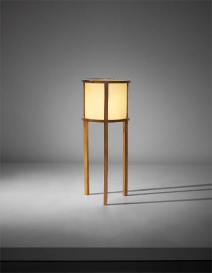 'Tripod' standard lamp