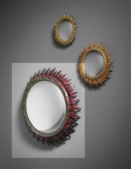 'Soleil à Pointes' mirror, model no. 3