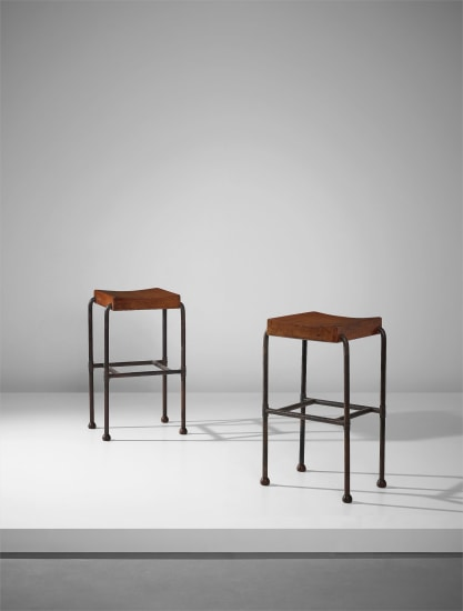 Pair of bar stools, model no. MT 344