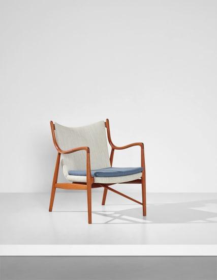 Rare armchair, model no. FJ45