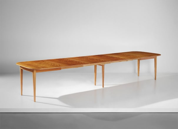 Large extendable dining table, model no. 947