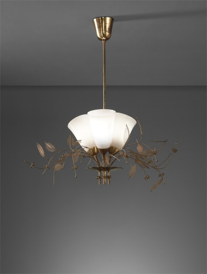 """Bridal Bouquet"" ceiling light, model no. 9029/3"