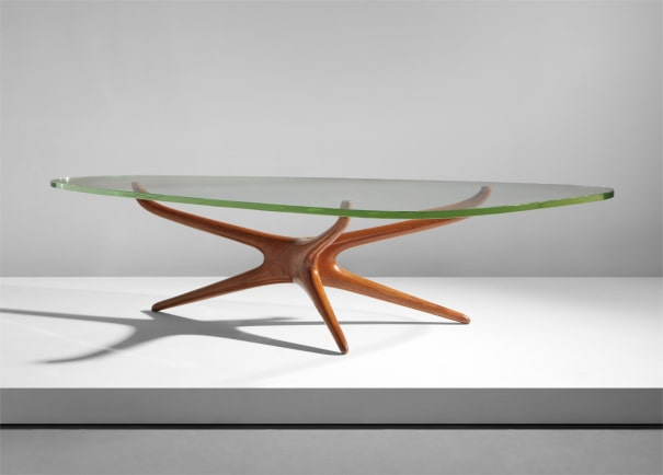 Kagan Coffee Table.Vladimir Kagan Tri Symmetric Coffee Table Circa 1953 Phillips