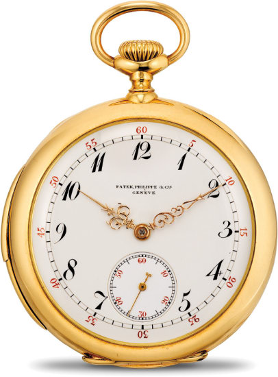 An attractive and fine yellow gold minute repeating open face pocket watch with Breguet numerals, retailed by C. I. Josephson, Moline IL.