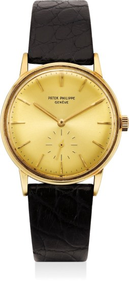 A fine yellow gold wristwatch
