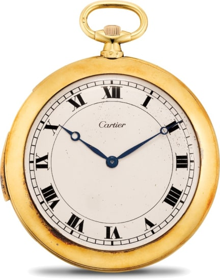 An elegant and fine yellow gold minute repeating open face pocket watch