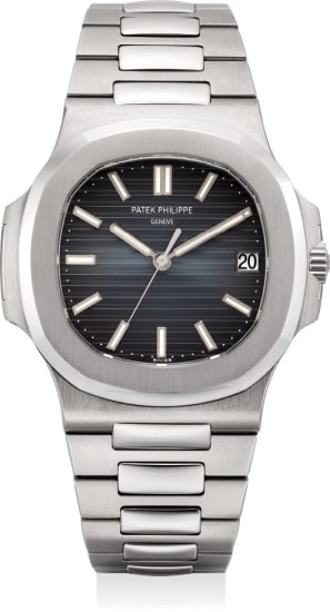 A very fine automatic wristwatch with center seconds, date, bracelet, Certificat and box