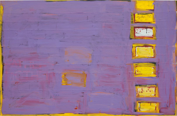 Untitled (check painting) #18