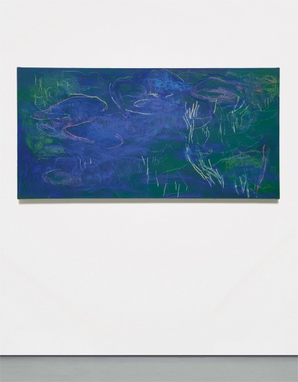 Water Lilies in Chalk V