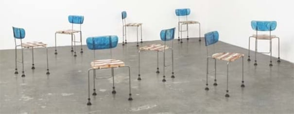 Superb Gaetano Pesce Set Of Eight 543 Broadway Chairs 1993 Ocoug Best Dining Table And Chair Ideas Images Ocougorg
