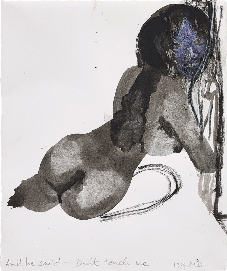 Marlene Dumas - And he said - Don't touch me | Phillips