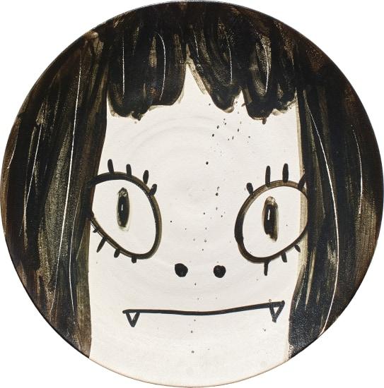 Ceramic painting blank ready to paint plate 20 cm diameter