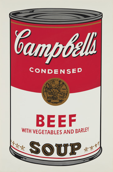 Beef, from Campbell's Soup I