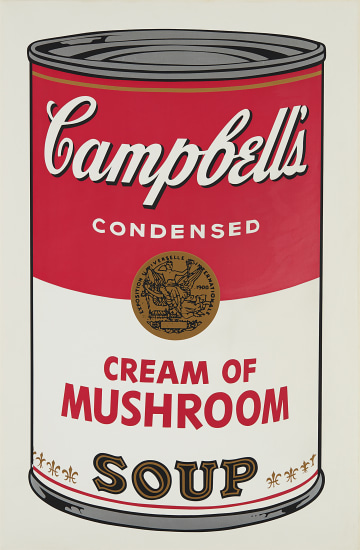 Cream of Mushroom, from Campbell's Soup I