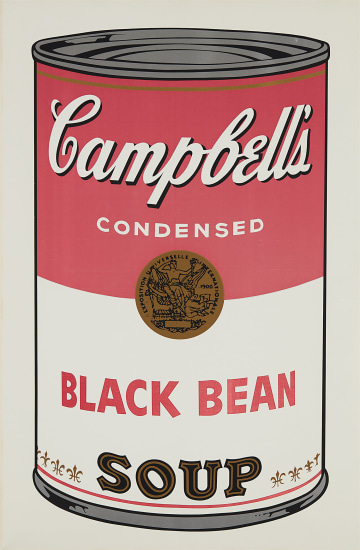 Black Bean, from Campbell's Soup I