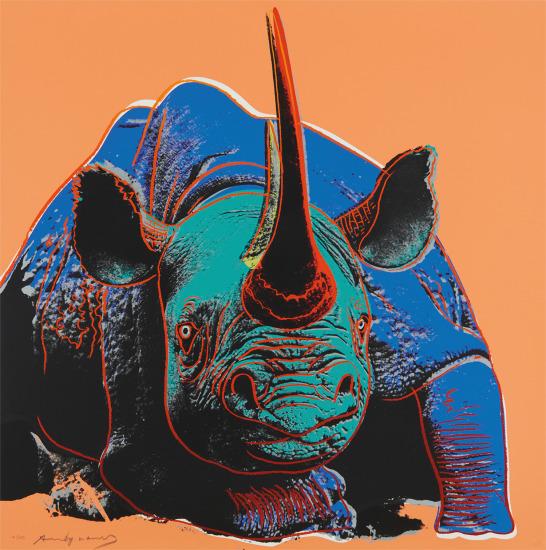 Black Rhino, from Endangered Species