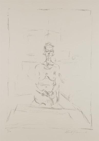 Nu assis (Seated Nude)
