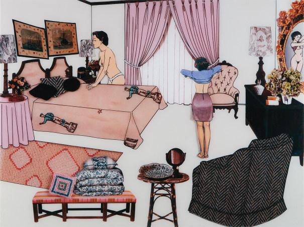 The Instant Decorator (Pink Bedroom)