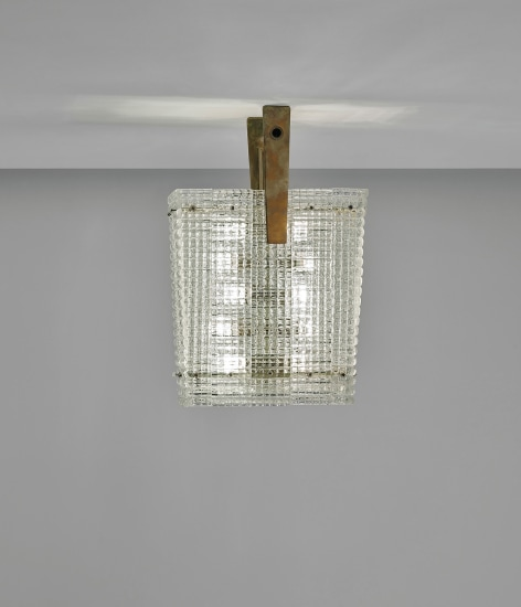 'Bugnato' ceiling light, model no. 5300