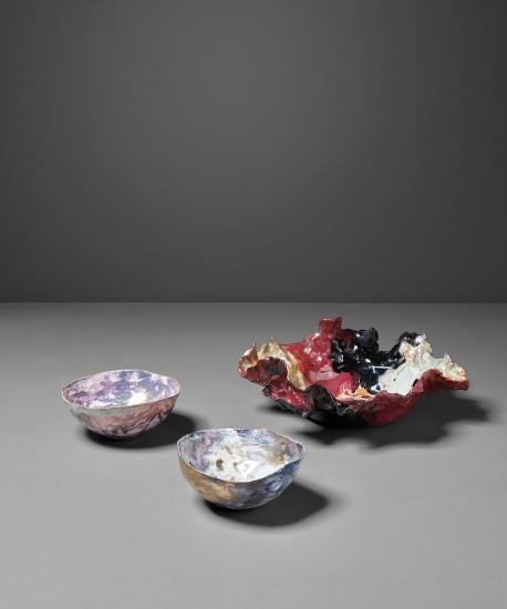 'Piatto' (dish) and two 'Coppette' (small bowls)