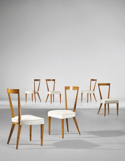8d9ccebd95 Gio Ponti - Set of six dining chairs, 1938-1939 | Phillips