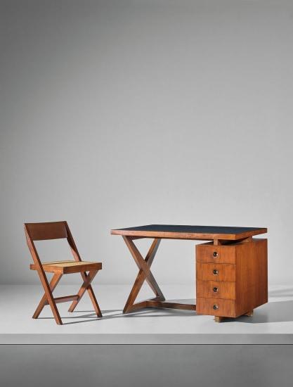 'Administrative' desk, model no PJ-BU-19-A, designed for administrative buildings