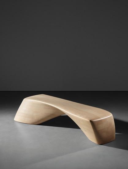 'Ordrupgaard' bench, model no. PP995, designed for the Ordrupgaard Museum extension, Charlottenlund, Denmark