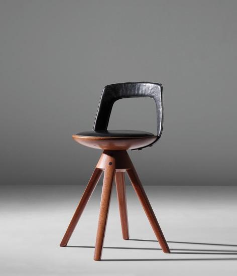Rare swivel stool
