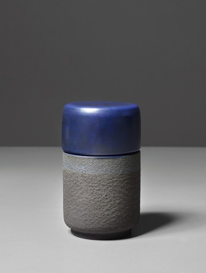 Lidded pot, model no. 198, from the 'Ceramiche di lava' series