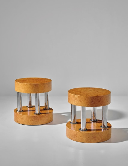 Two early 'Hyatt' side tables
