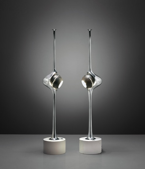 Two 'Cobra' table lamps, model no. 12919